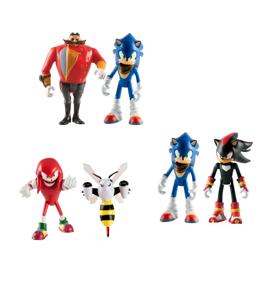 Sonic Boom Action Figures 8 cm 2-Packs Assortment A7 (6)