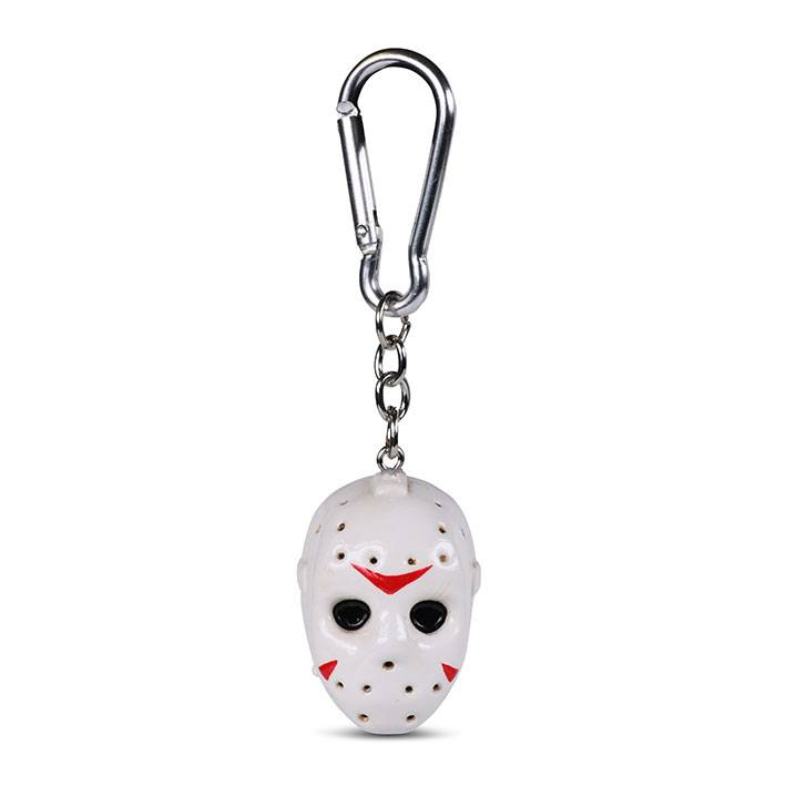 Friday the 13th 3D-Keychains Head 4 cm Case (10)