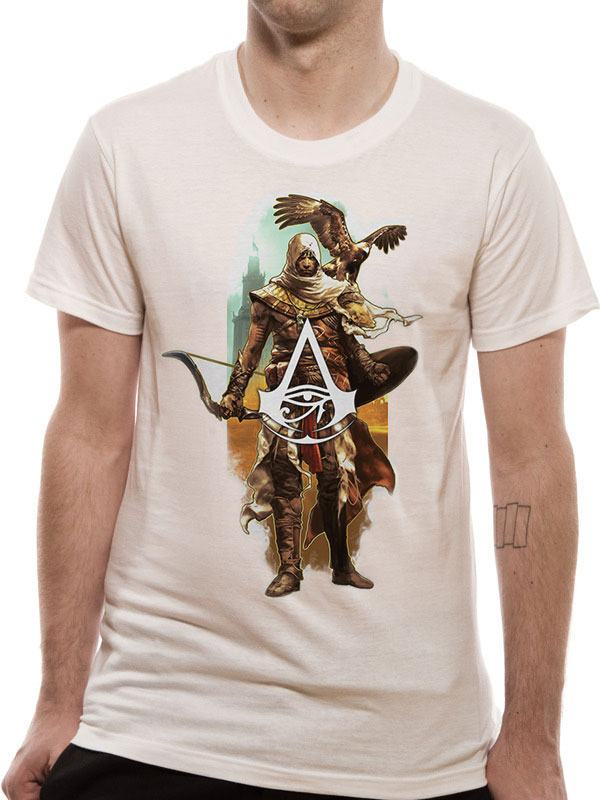 Assassin's Creed Origins T-Shirt Character Eagle Size M