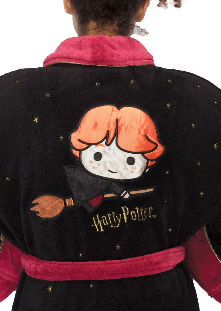 Harry Potter Ladies Fleece Bathrobe Kawaii Ron Weasley