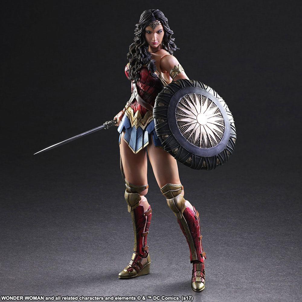 Wonder Woman Movie Play Arts Kai Action Figure Wonder Woman 25 cm