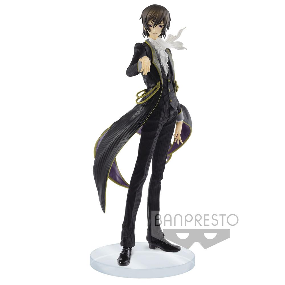 Code Geass Lelouch of the Rebellion EXQ Figure Lelouch Lamperouge 23 cm