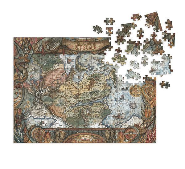 Dragon Age Jigsaw Puzzle World of Thedas Map (1000 pieces)