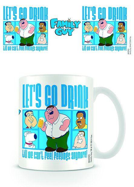 Family Guy Mug Drink