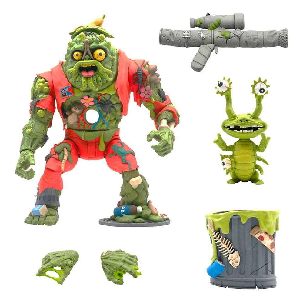 Teenage Mutant Ninja Turtles Ultimates Action Figure Muckman & Joe Eyeball 18 cm