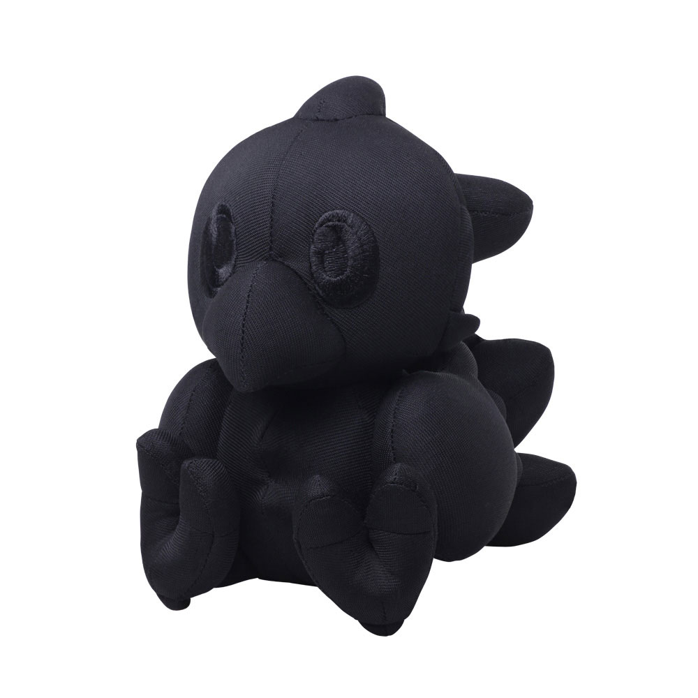 Final Fantasy Autograph Plush Figure Chocobo Black Ver. 16 cm