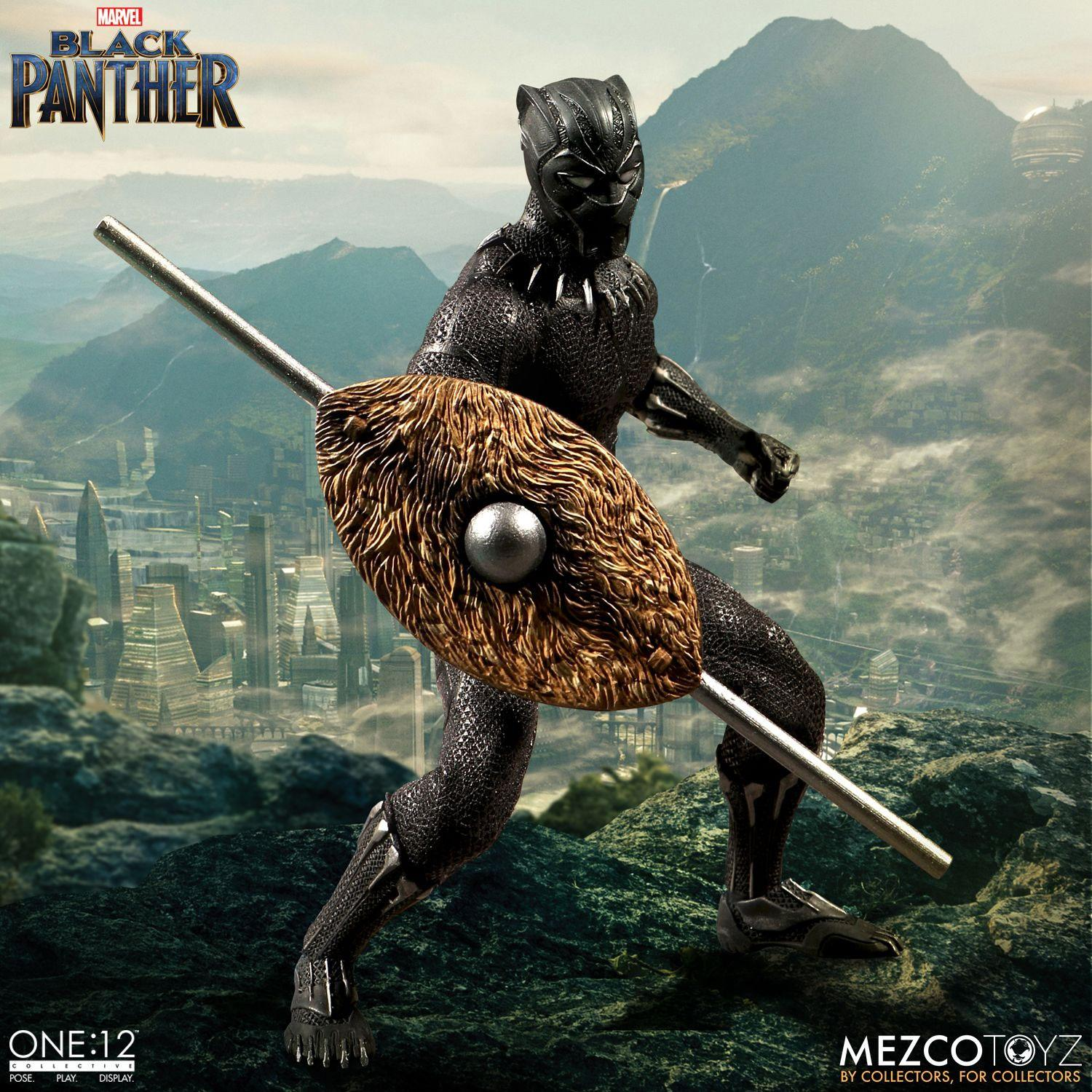 Marvel Universe Action Figure 1/12 Black Panther 17 cm