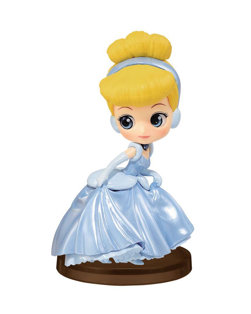 Disney Q Posket Petit Girls Festival Mini Figure Cinderella 7 cm
