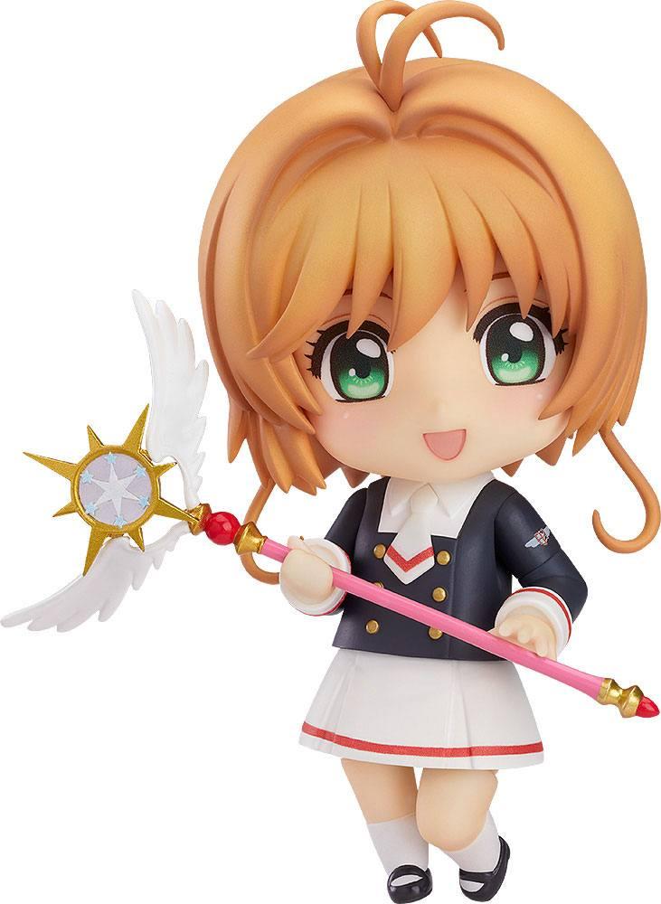 Cardcaptor Sakura Clear Card Nendoroid Action Figure Sakura Tomoeda Junior High Uniform Ver. 10 cm