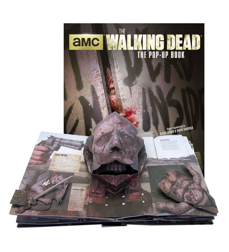 Walking Dead 3D Pop-Up Book