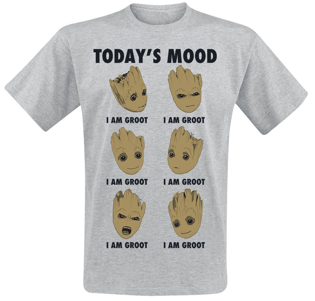Guardians of the Galaxy Vol. 2 T-Shirt Groot Todays Mood Size XL
