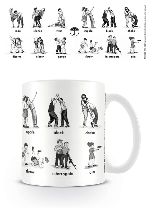 The Umbrella Academy Mug Defence and Dominate