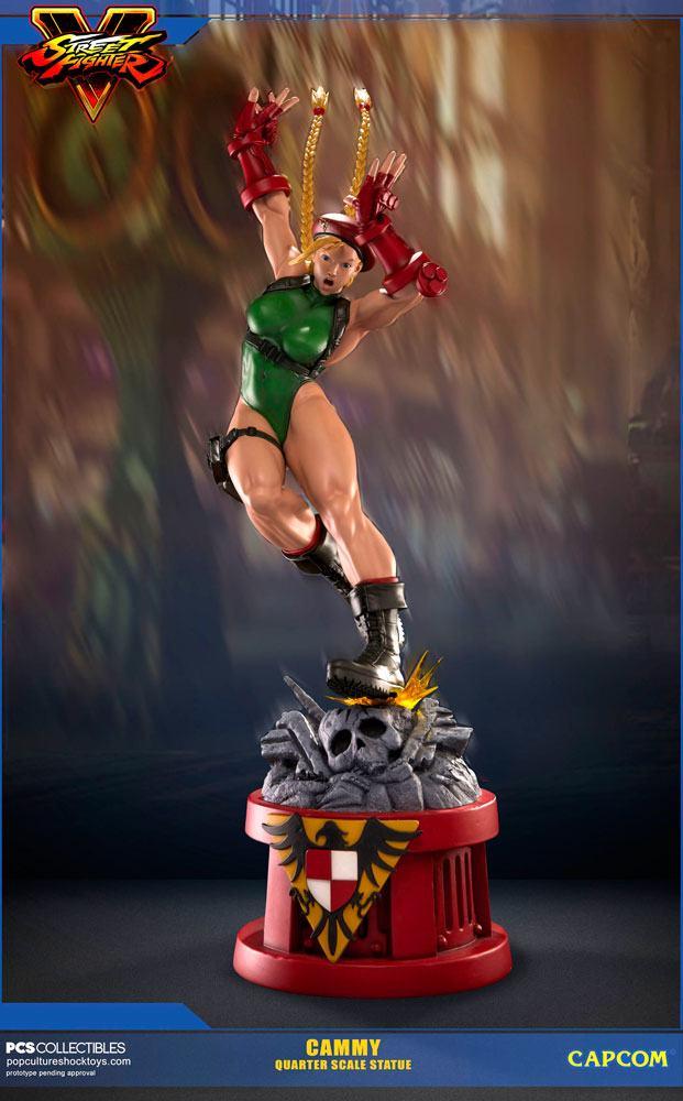 Street Fighter V Statue 1/4 Cammy 71 cm