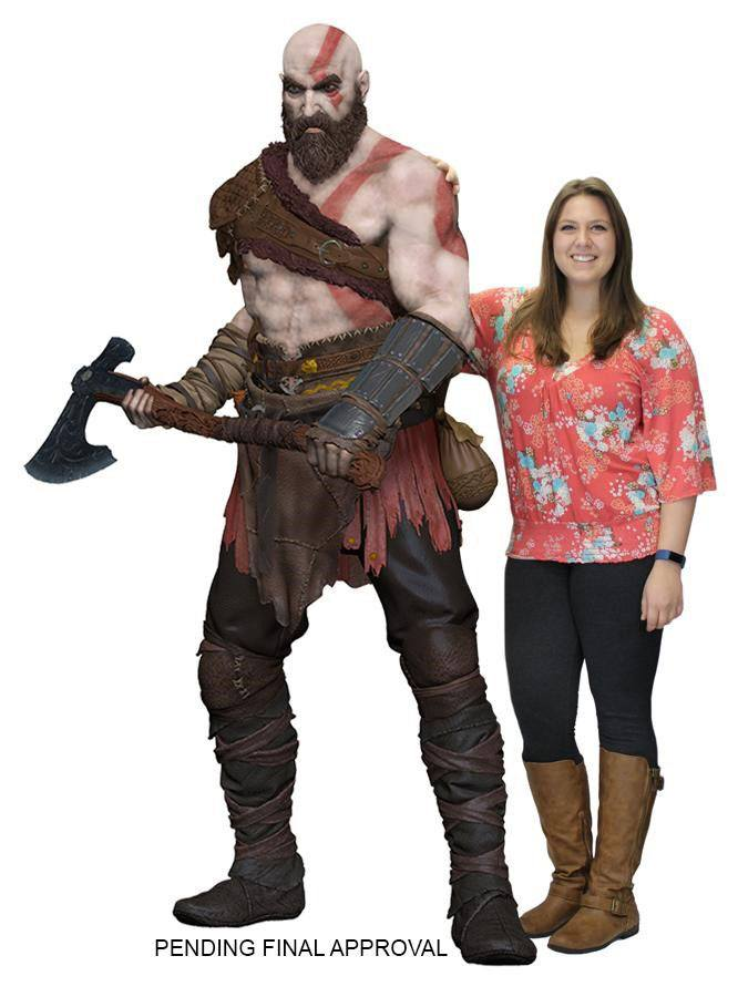 God of War 2018 Life-Size Statue Kratos (Foam Rubber/Latex) 190 cm