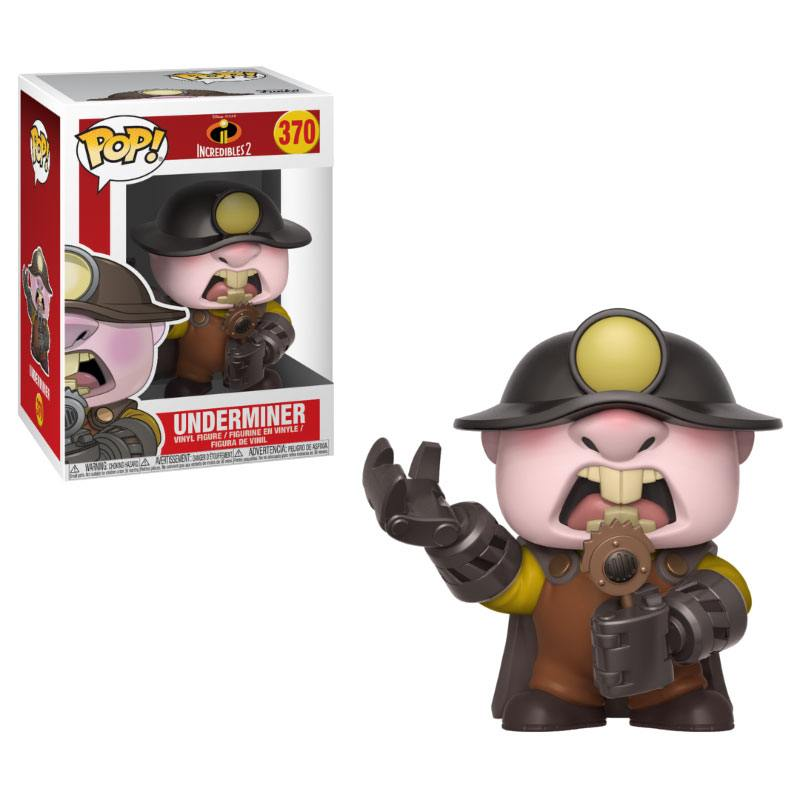 Incredibles 2 POP! Disney Vinyl Figure Underminer 9 cm