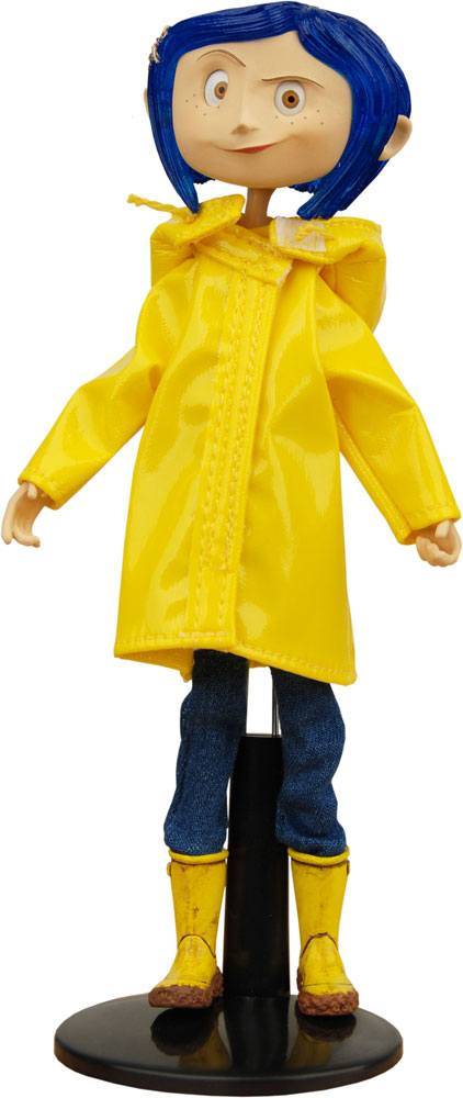 Coraline Bendy Doll Raincoats & Boots 18 cm --- DAMAGED PACKAGING
