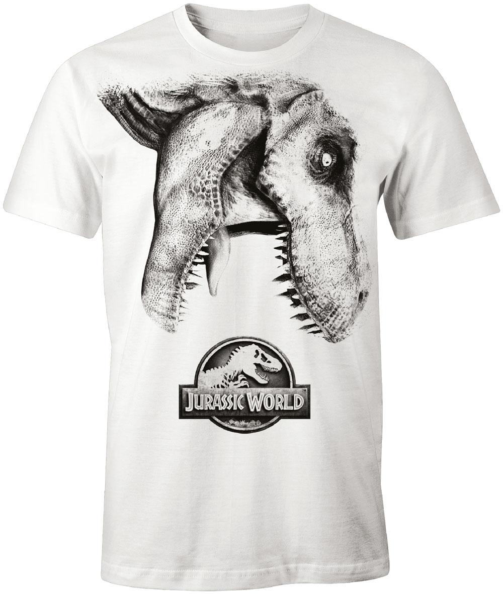 Jurassic Park T-Shirt Tyra Logo  Size S