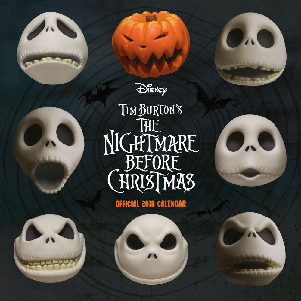 Nightmare before Christmas Calendar 2018 English Version*