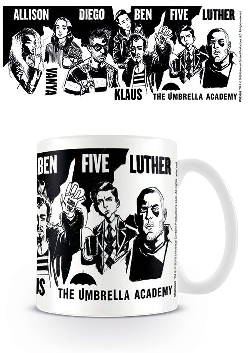 The Umbrella Academy Mug Sketch