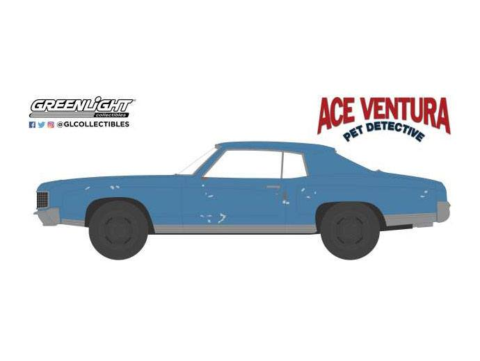 Ace Ventura: Pet Detective Diecast Model 1/64 1972 Chevrolet Monte Carlo