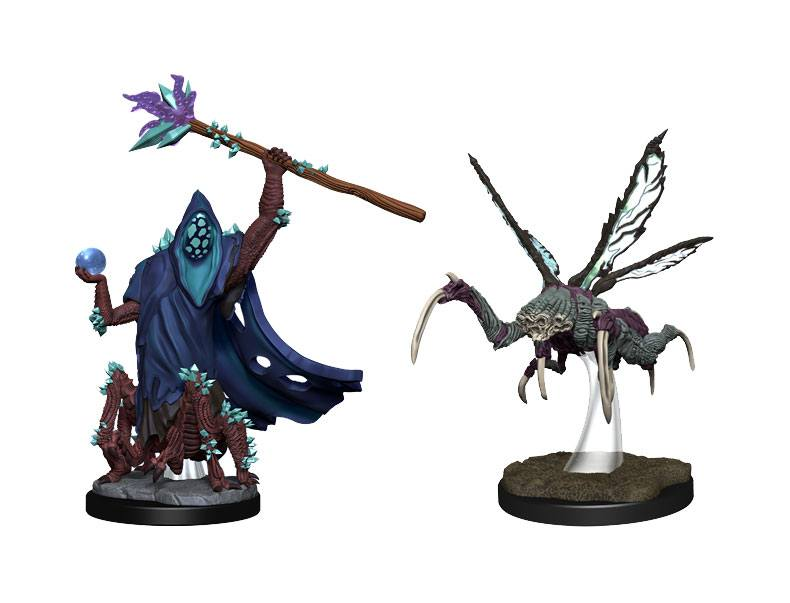 Critical Role Unpainted Miniatures Core Spawn Emissary and Seer Case (2)