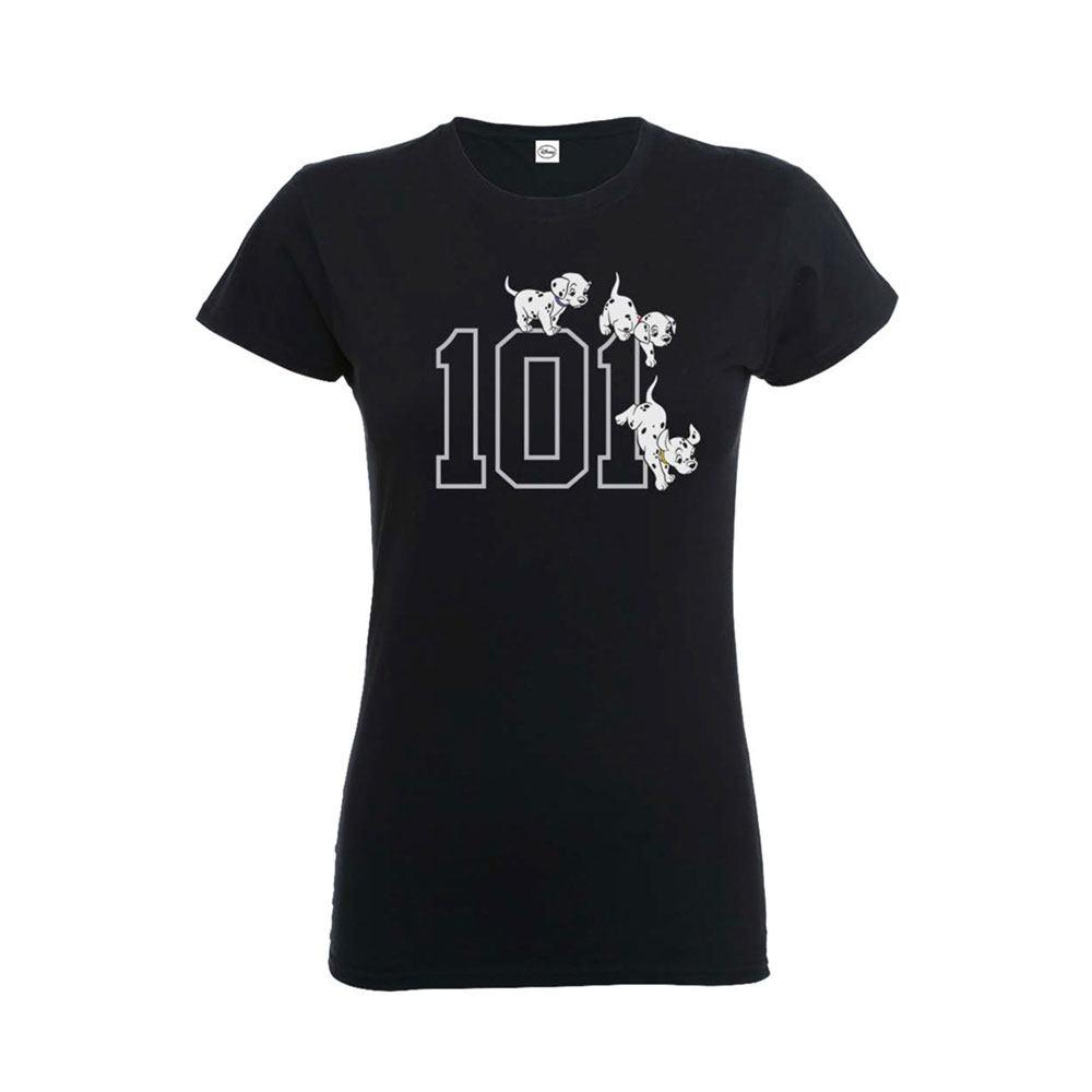 Disney Ladies T-Shirt 101 Dalmatians Size XL