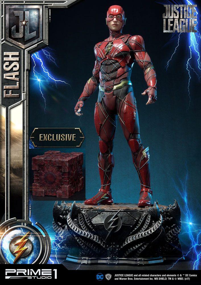 Justice League Statues Flash & Flash Exclusive 83 cm Assortment (3)