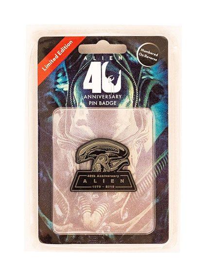 Alien Pin Badge 40th Anniversary