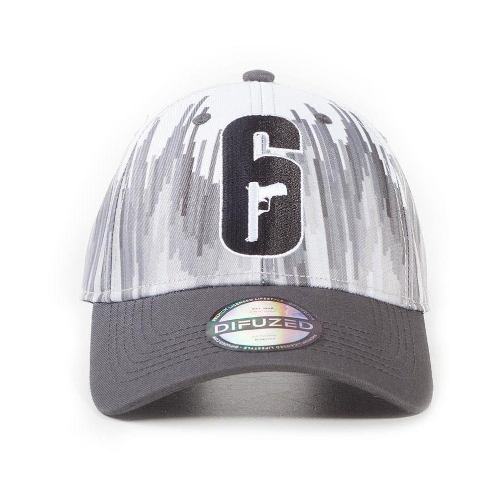 Rainbow Six Siege Curved Bill Cap 6-Siege