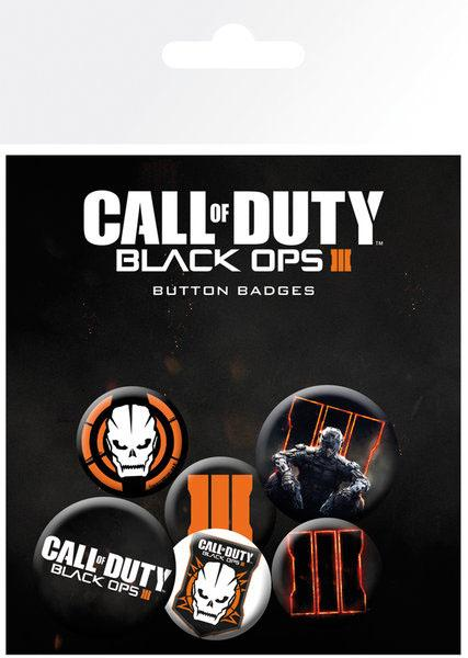 Call of Duty Black Ops III Pin Badges 6-Pack Mix