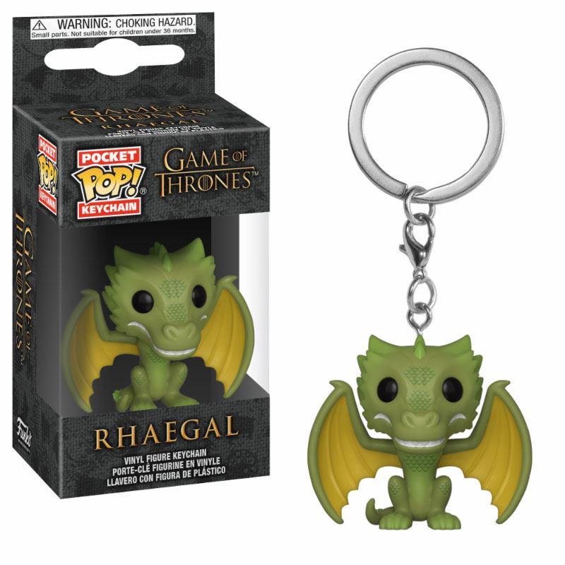 Game of Thrones Pocket POP! Vinyl Keychain Rhaegal 4 cm
