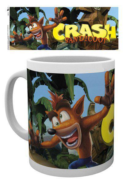 Crash Bandicoot Mug Logo