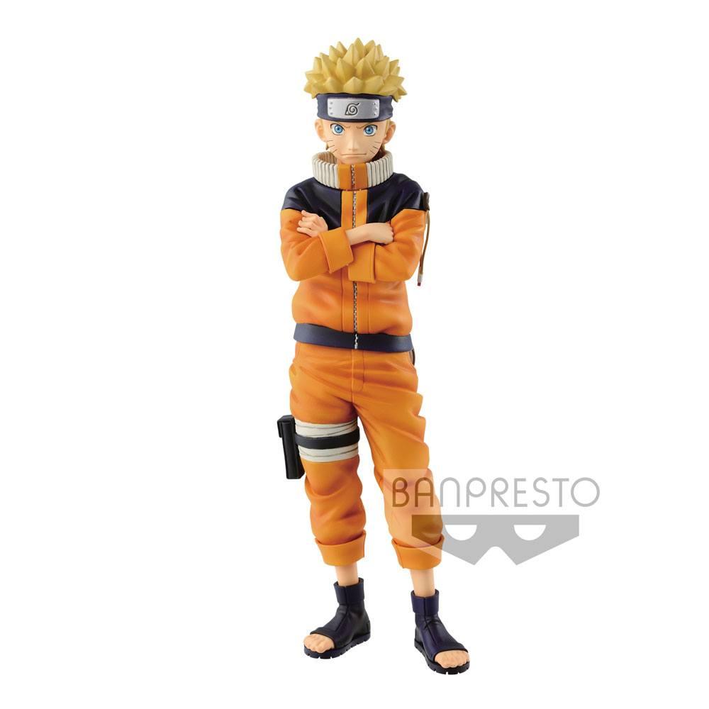 Naruto Shippuden Grandista Shinobi Relations Figure Uzumaki Naruto #2 23 cm