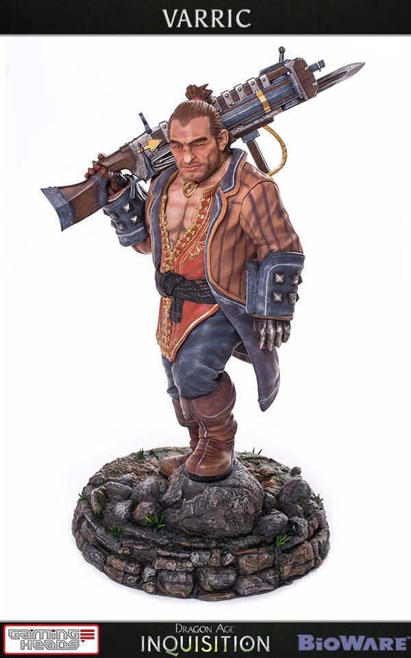 Dragon Age Inquisition Statue 1/4 Varric 68 cm