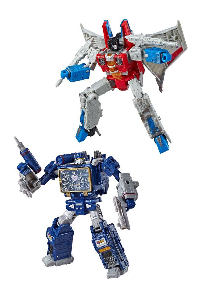 Transformers Generations War for Cybertron: Siege Action Figures Voyager 2019 Wave 2 Assortment (2)