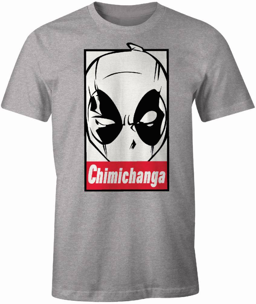Deadpool T-Shirt Chimichanga Size L