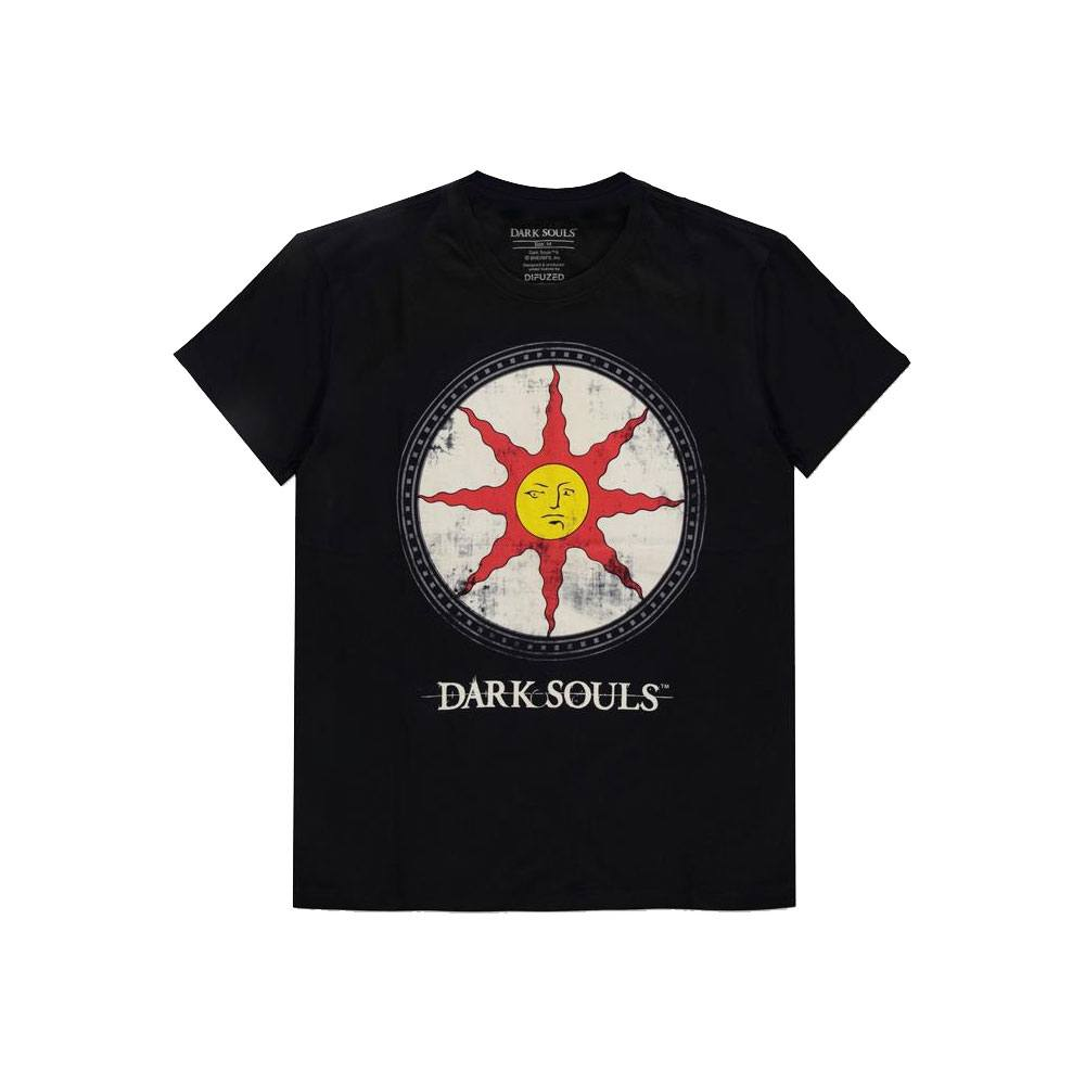 Dark Souls T-Shirt Solaire Shield Size L