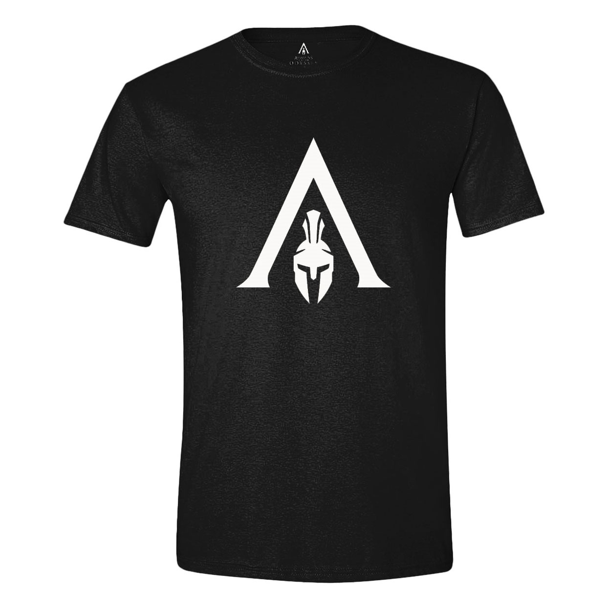 Assassin's Creed Odyssey T-Shirt White Logo Size S