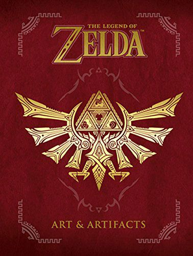 The Legend of Zelda Book Art & Artifacts