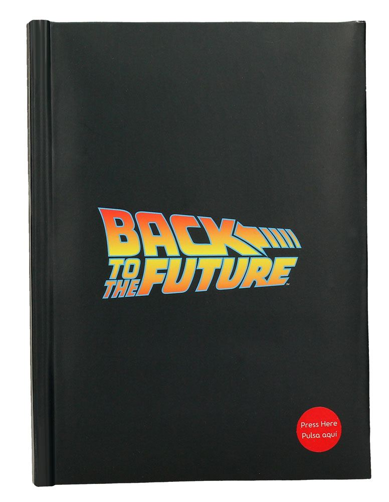 Back to the Future Notebook with Sound Logo