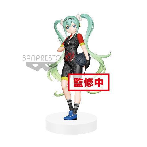 Racing Miku EXQ PVC Statue Hatsune Miku 2018 Team UKYO Ver. 21 cm