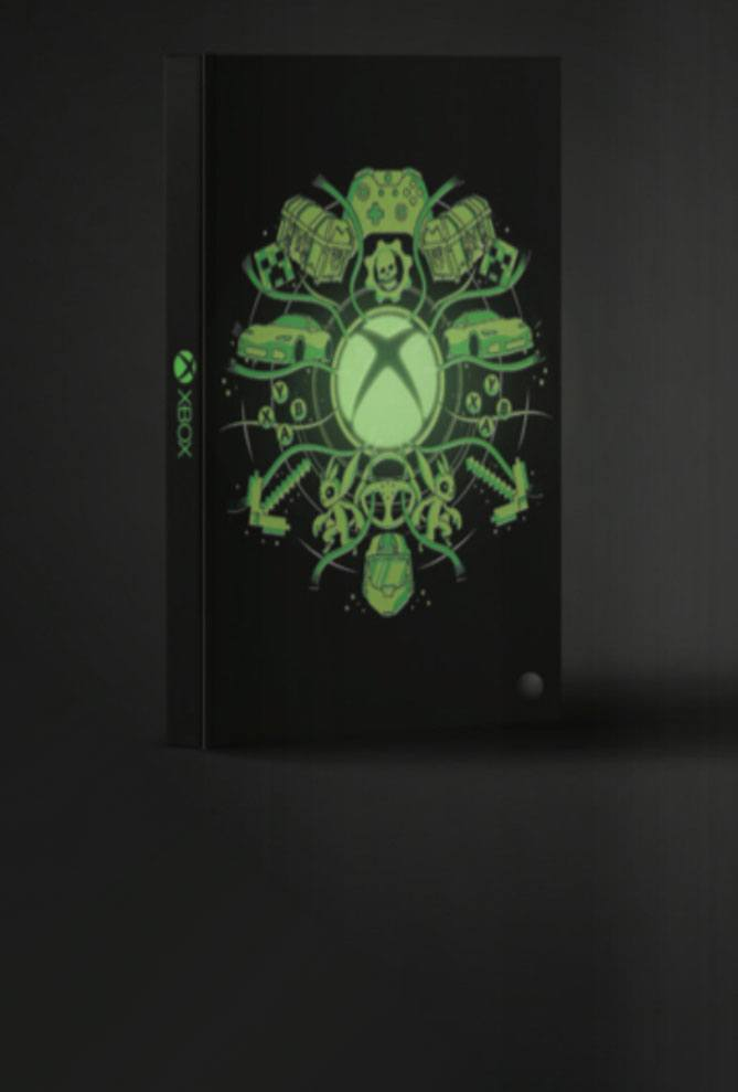 XBox Notebook Light Up Logo