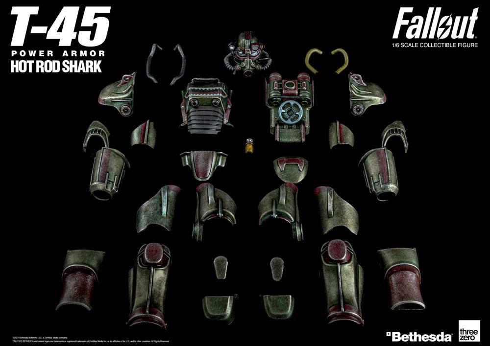 Fallout 1/6 T-45 Hot Rod Shark Armor Pack