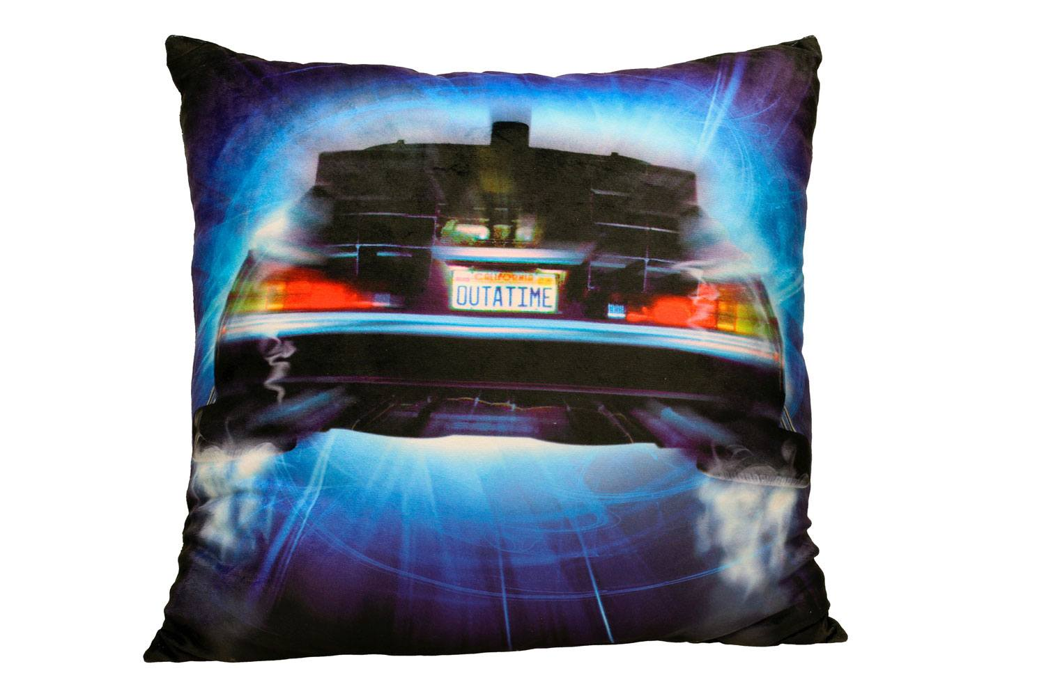 Back to the Future Pillow DeLorean Roads 45 cm