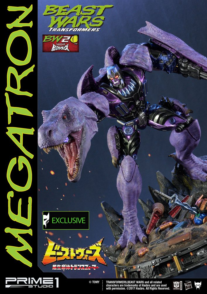 Transformers Beast Wars Statues Megatron & Megatron Exclusive 68 cm Assortment (3)