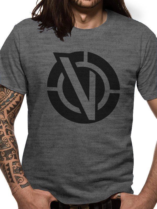 Rick and Morty T-Shirt Vindicators Logo Size M