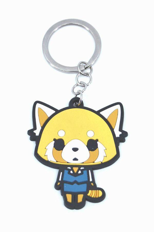 Aggretsuko Rubber Keychain Retsuko 6 cm