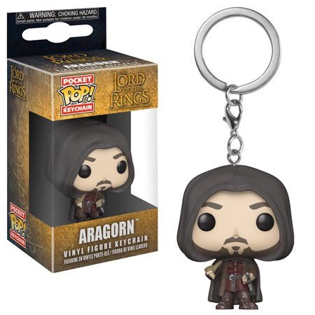 Lord of the Rings Pocket POP! Vinyl Keychain Aragorn 4 cm