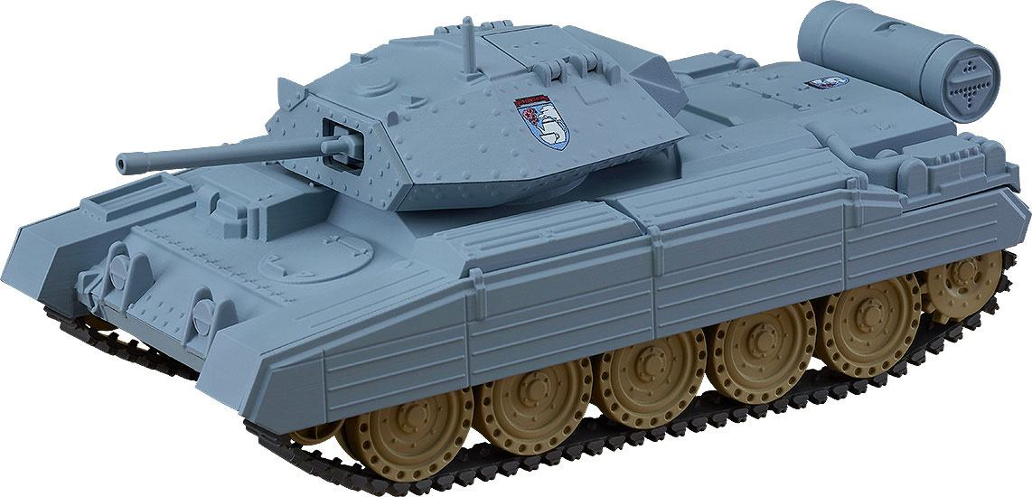 Girls und Panzer das Finale Nendoroid More Vehicle Crusader Mk. III 16 cm