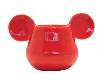 Mickey Mouse 3D Eggcup Red
